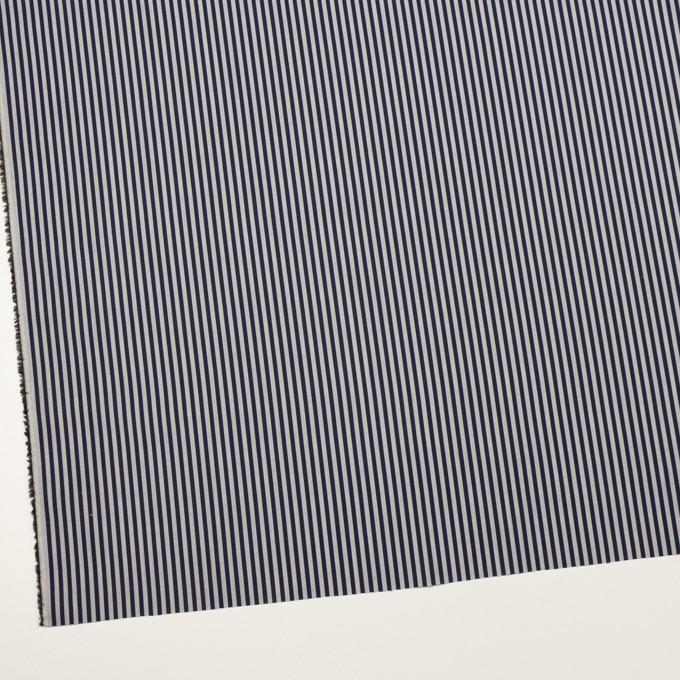 コットン×ストライプ(グレー&ネイビー)×ローン イメージ2
