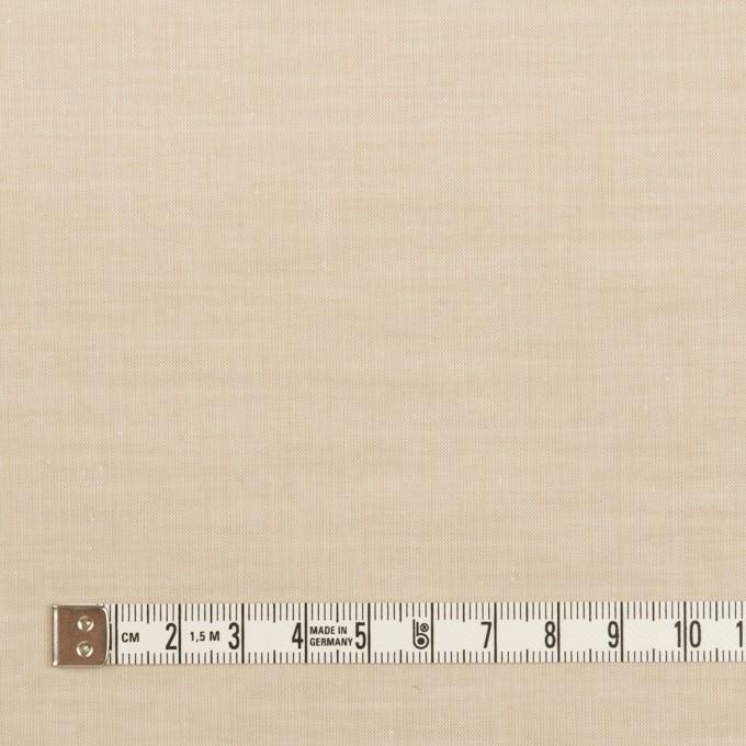 コットン×無地(ライトベージュ)×シャンブレー・ローン イメージ4