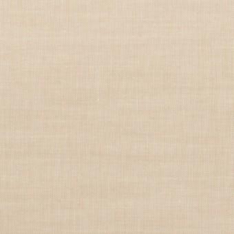 コットン×無地(ライトベージュ)×シャンブレー・ローン サムネイル1