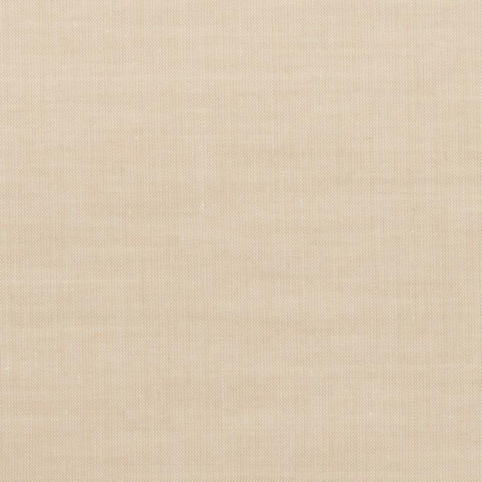 コットン×無地(ライトベージュ)×シャンブレー・ローン イメージ1