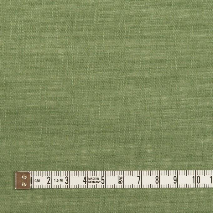 コットン×無地(アイビーグリーン)×ヘリンボーン_全2色 イメージ4