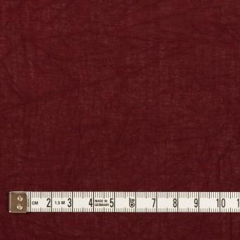 コットン×無地(バーガンディー)×ボイルワッシャー_全3色 サムネイル4