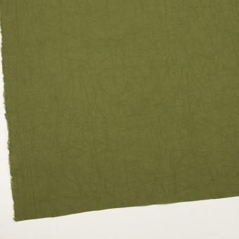 コットン×無地(カーキグリーン)×ボイルワッシャー_全3色 サムネイル2