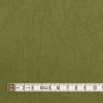 コットン×無地(カーキグリーン)×ボイルワッシャー_全3色 サムネイル4