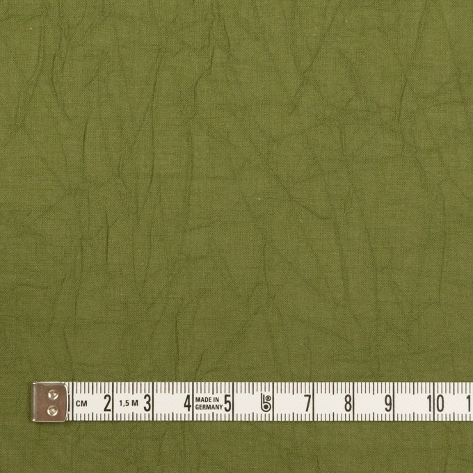 コットン×無地(カーキグリーン)×ボイルワッシャー_全3色 イメージ4