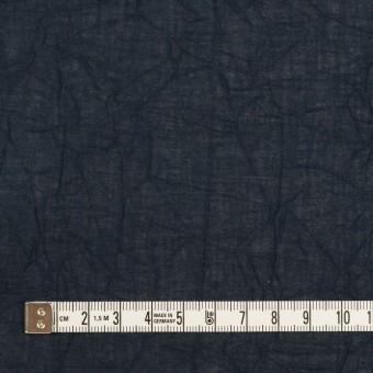 コットン×無地(ネイビー)×ボイルワッシャー_全3色 サムネイル4