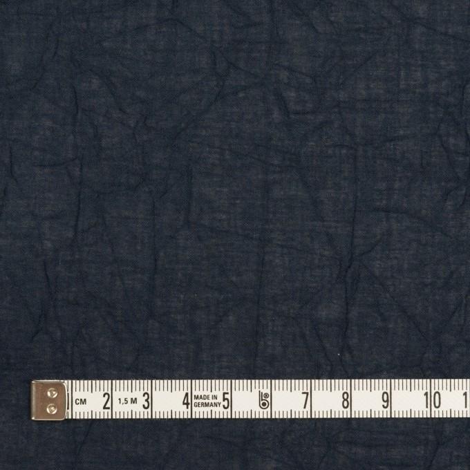 コットン×無地(ネイビー)×ボイルワッシャー_全3色 イメージ4