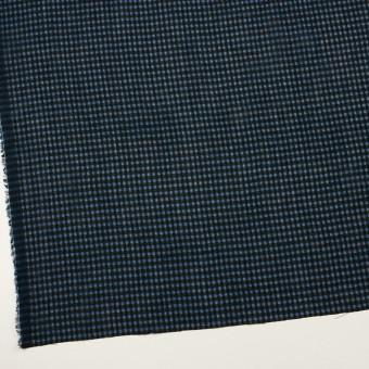 コットン×チェック(ブルー)×ボイルワッシャー_全4色 サムネイル2