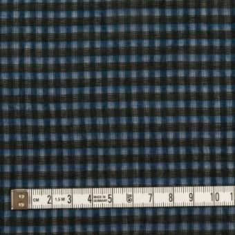 コットン×チェック(ブルー)×ボイルワッシャー_全4色 サムネイル4