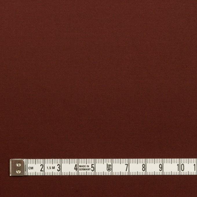 コットン&ポリウレタン×無地(バーガンディー)×サテンストレッチ_全2色 イメージ4