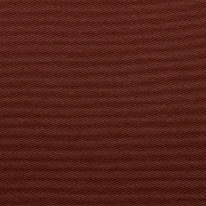 コットン&ポリウレタン×無地(バーガンディー)×サテンストレッチ_全2色 イメージ1