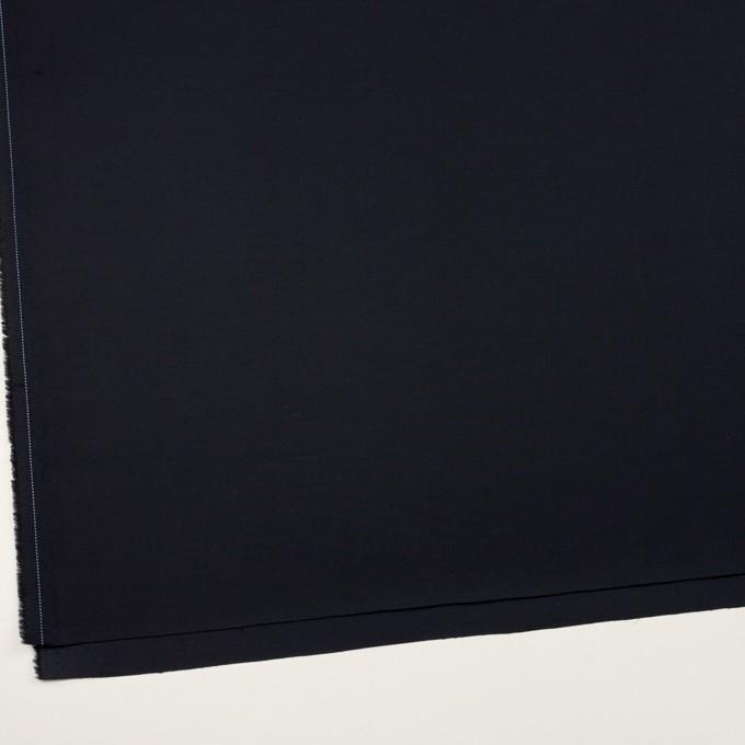 コットン&ポリウレタン×無地(ダークネイビー)×サテンストレッチ_全2色 イメージ2
