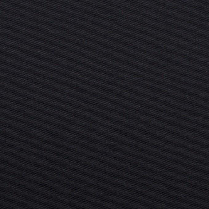 コットン&ポリウレタン×無地(ダークネイビー)×サテンストレッチ_全2色 イメージ1