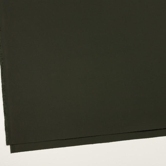 コットン×無地(ダークモスグリーン)×サテン イメージ2