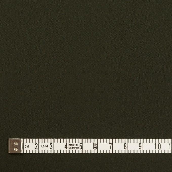 コットン×無地(ダークモスグリーン)×サテン イメージ4