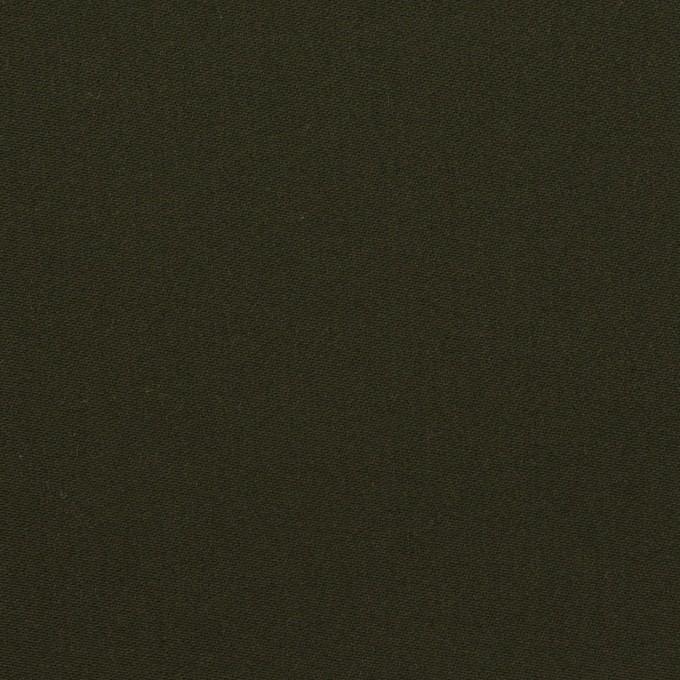 コットン×無地(ダークモスグリーン)×サテン イメージ1