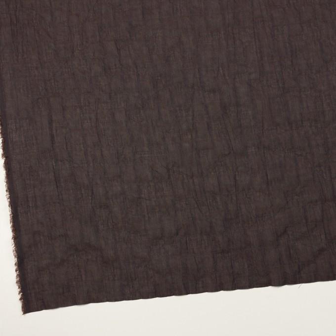 コットン&テンセル混×無地(レーズン)×シャンブレーボイル・シャーリング イメージ2