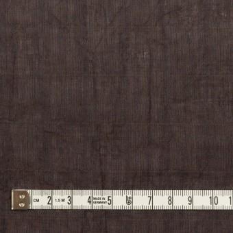 コットン&テンセル混×無地(レーズン)×シャンブレーボイル・シャーリング サムネイル4