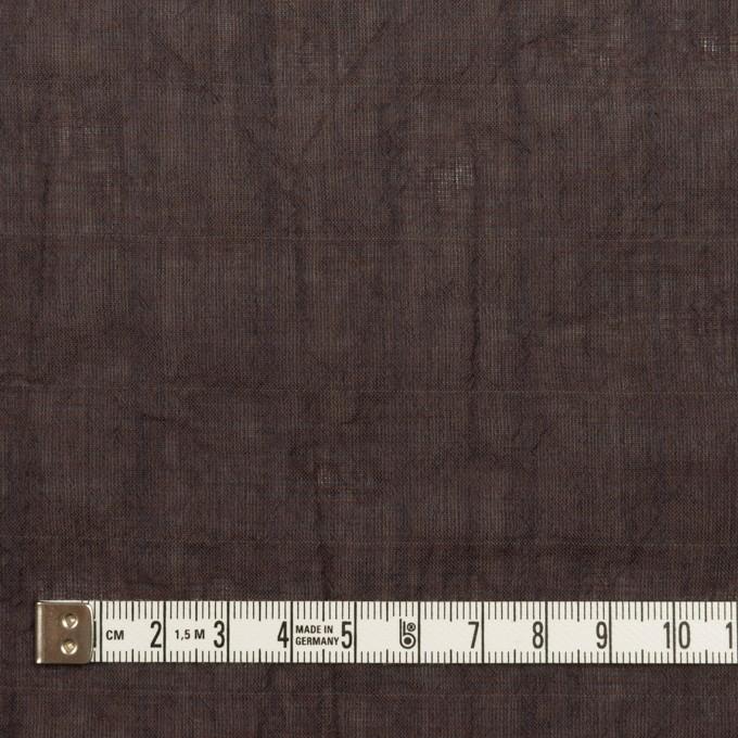 コットン&テンセル混×無地(レーズン)×シャンブレーボイル・シャーリング イメージ4