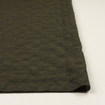 コットン&テンセル混×無地(オリーブグリーン)×シャンブレーボイル・シャーリング サムネイル3