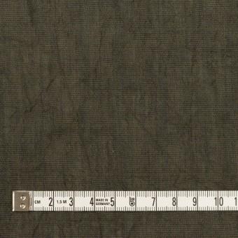 コットン&テンセル混×無地(オリーブグリーン)×シャンブレーボイル・シャーリング サムネイル4