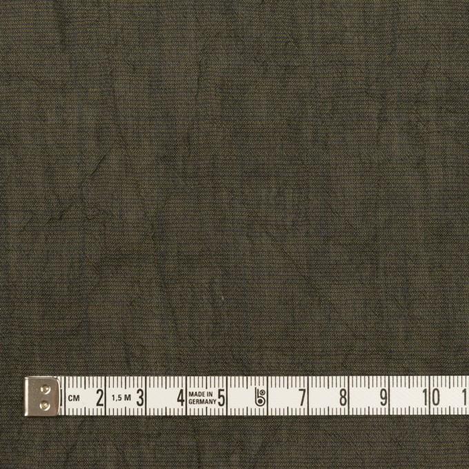 コットン&テンセル混×無地(オリーブグリーン)×シャンブレーボイル・シャーリング イメージ4
