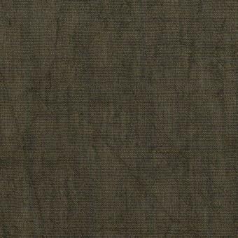コットン&テンセル混×無地(オリーブグリーン)×シャンブレーボイル・シャーリング