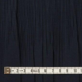 コットン&ポリエステル混×無地(ネイビー)×シャンブレーローン・シャーリング_パネル サムネイル4