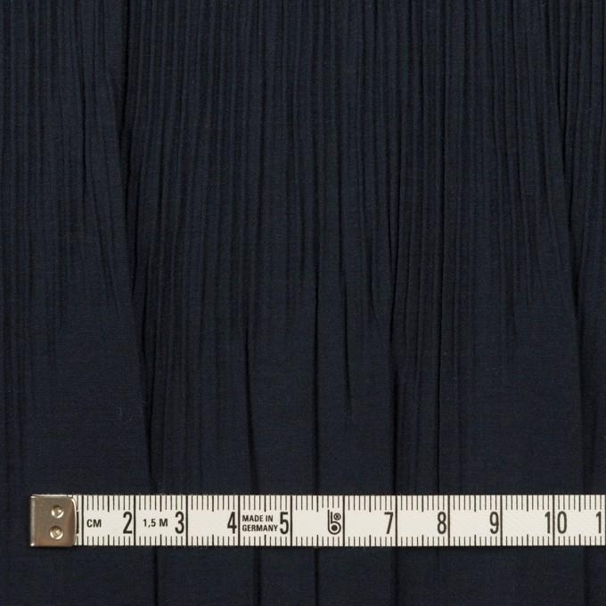 コットン&ポリエステル混×無地(ネイビー)×シャンブレーローン・シャーリング_パネル イメージ4