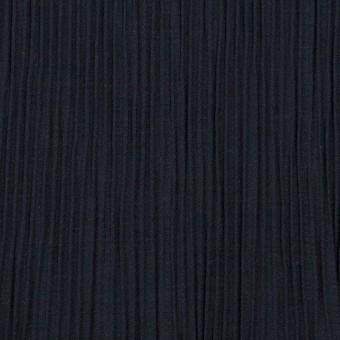 コットン&ポリエステル混×無地(ネイビー)×シャンブレーローン・シャーリング_パネル