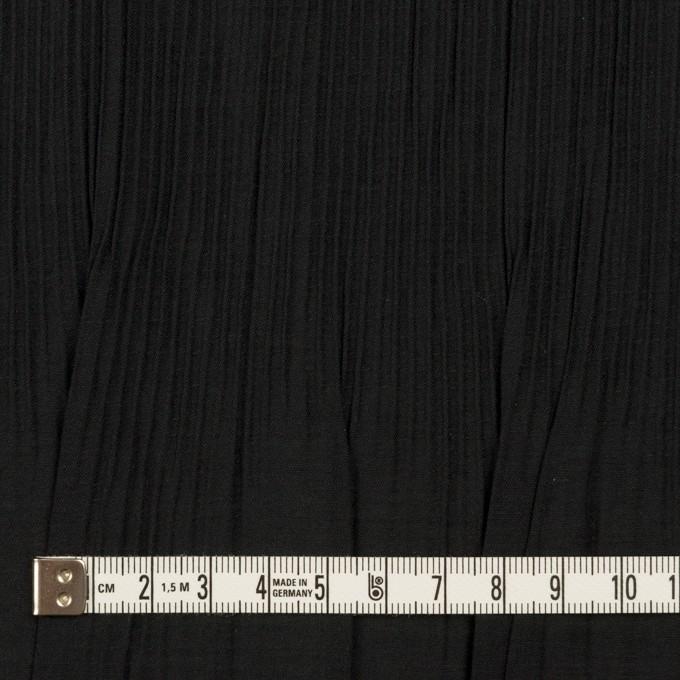 コットン&ポリエステル混×無地(ブラック)×シャンブレーローン・シャーリング_パネル イメージ4