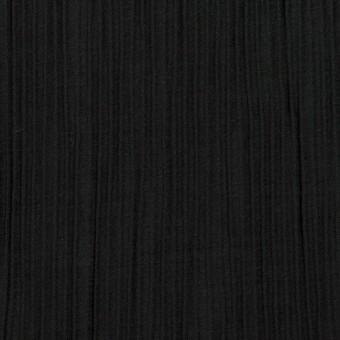 コットン&ポリエステル混×無地(ブラック)×シャンブレーローン・シャーリング_パネル サムネイル1