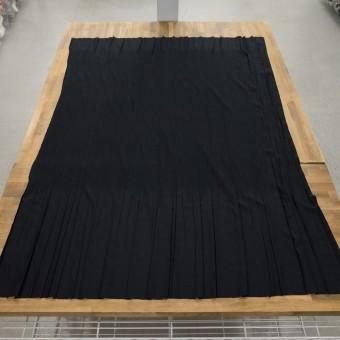 コットン&ポリエステル混×無地(ブラック)×シャンブレーローン・シャーリング_パネル サムネイル6