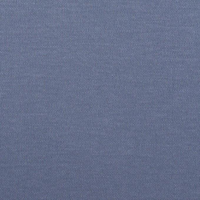 コットン×無地(ヒヤシンスブルー)×スムースニット イメージ1