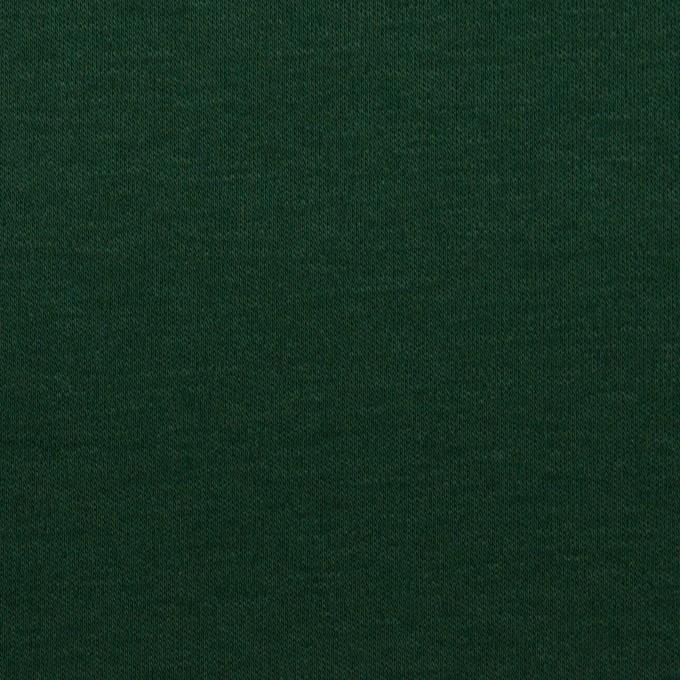 コットン×無地(モスグリーン)×スムースニット イメージ1