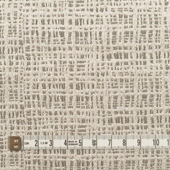 ポリエステル&ナイロン混×幾何学模様(アッシュブロンド&ゴールド)×ジャガード サムネイル4