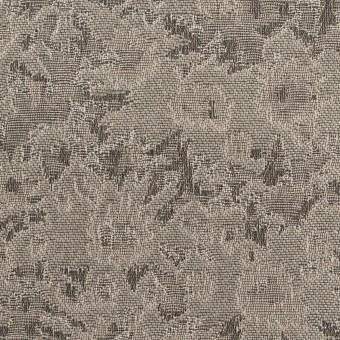 ポリエステル&アクリル混×フラワー(アッシュブロンド&グレー)×ジャガード_全2色
