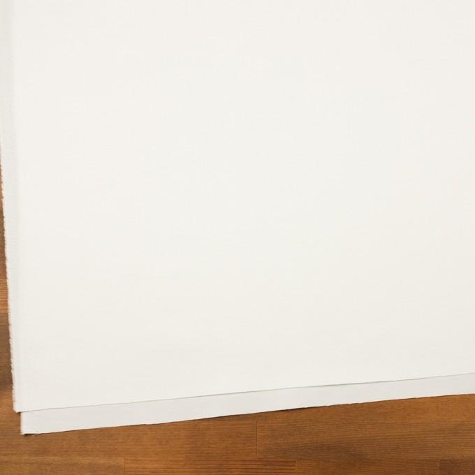 コットン&ラミー×無地(オフホワイト)×サージ_全4色 イメージ2