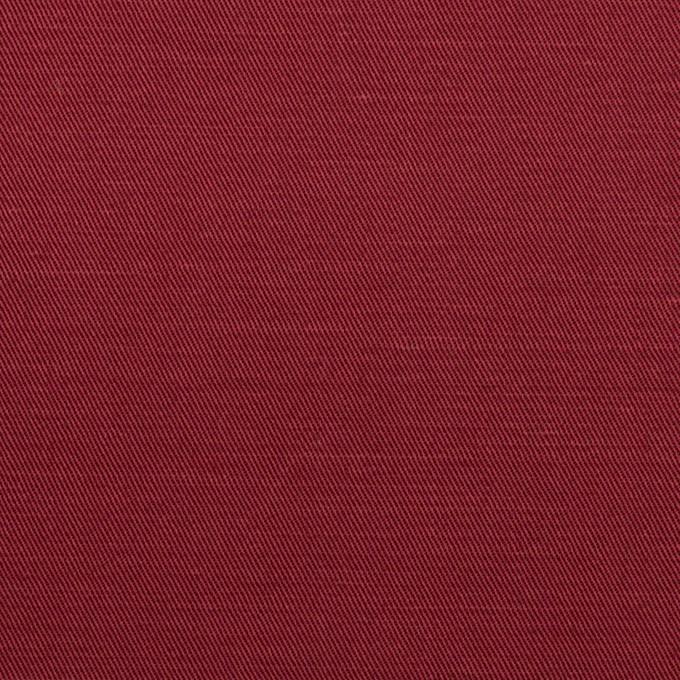 コットン&ラミー×無地(バーガンディー)×サージ_全4色 イメージ1