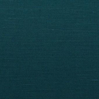 コットン&ラミー×無地(バルビゾンブルー)×サージ_全4色