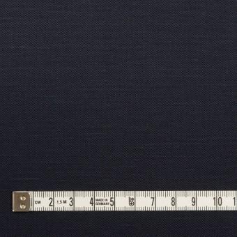コットン&ラミー×無地(ダークネイビー)×サージ_全4色 サムネイル4