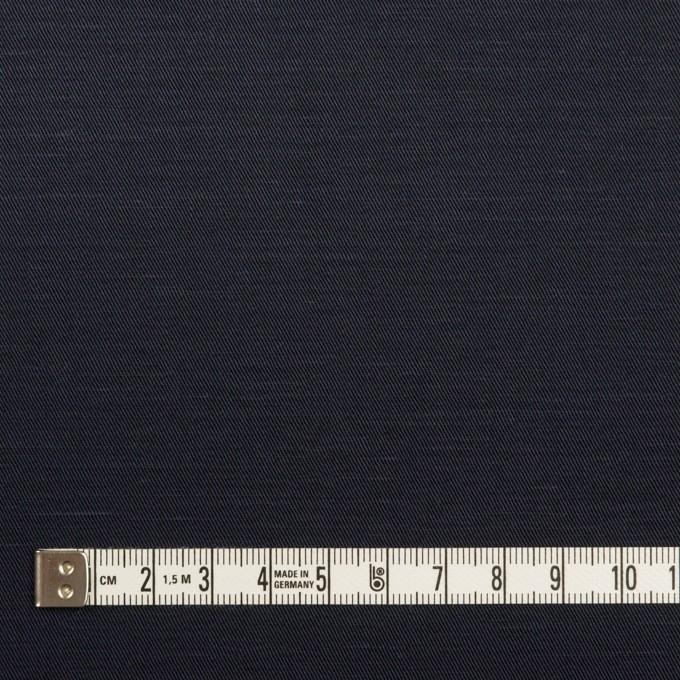 コットン&ラミー×無地(ダークネイビー)×サージ_全4色 イメージ4