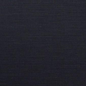 コットン&ラミー×無地(ダークネイビー)×サージ_全4色