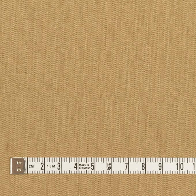 コットン×無地(カーキベージュ)×ヘリンボーン イメージ4