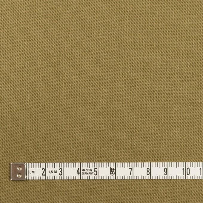 コットン×無地(アッシュカーキグリーン)×サージ イメージ4