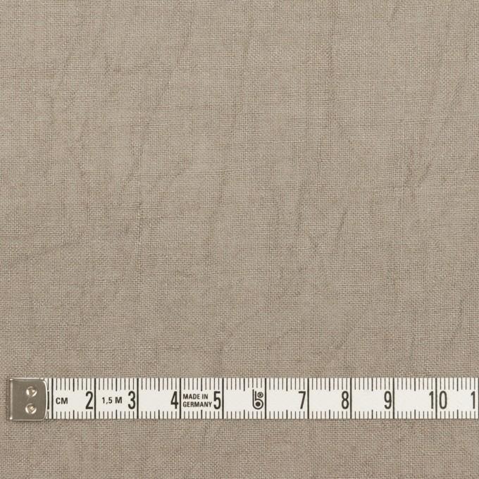 リネン×無地(ベージュグレー)×薄キャンバス・ワッシャー イメージ4