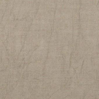 リネン×無地(ベージュグレー)×薄キャンバス・ワッシャー サムネイル1