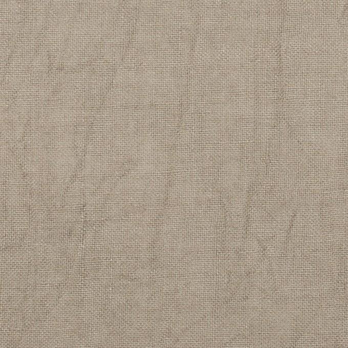 リネン×無地(ベージュグレー)×薄キャンバス・ワッシャー イメージ1