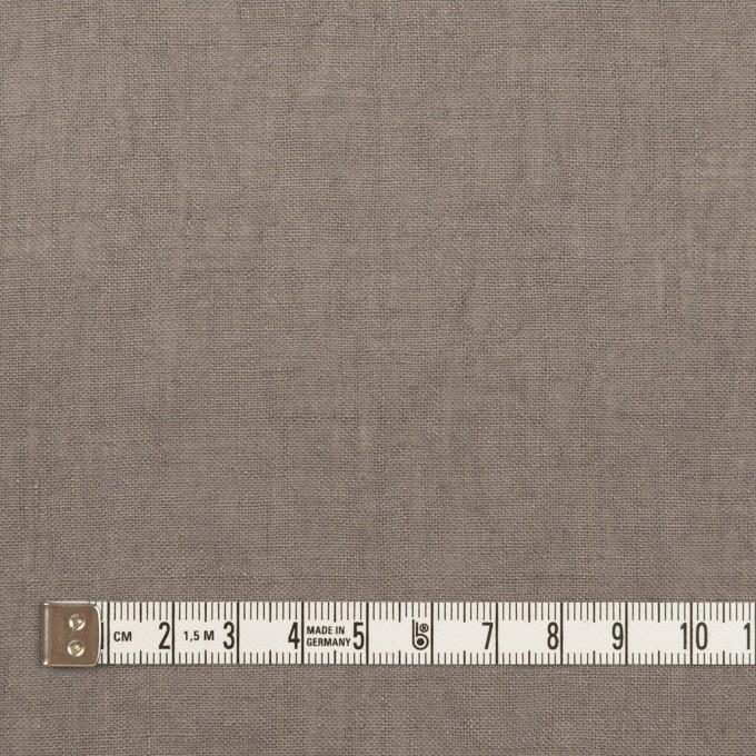 リネン×無地(ストーングレー)×薄キャンバス・ワッシャー イメージ4