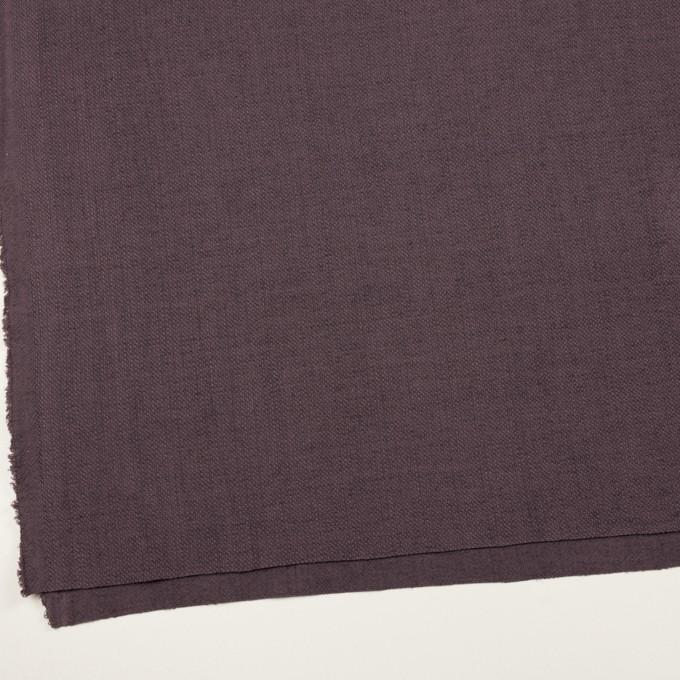 コットン&リネン×無地(グレープ)×かわり織 イメージ2